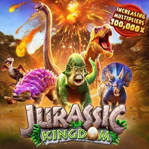 ทดลองเล่นสล็อต JURASSIC KINGDOM เกมใหม่ PG SLOT มาแรง